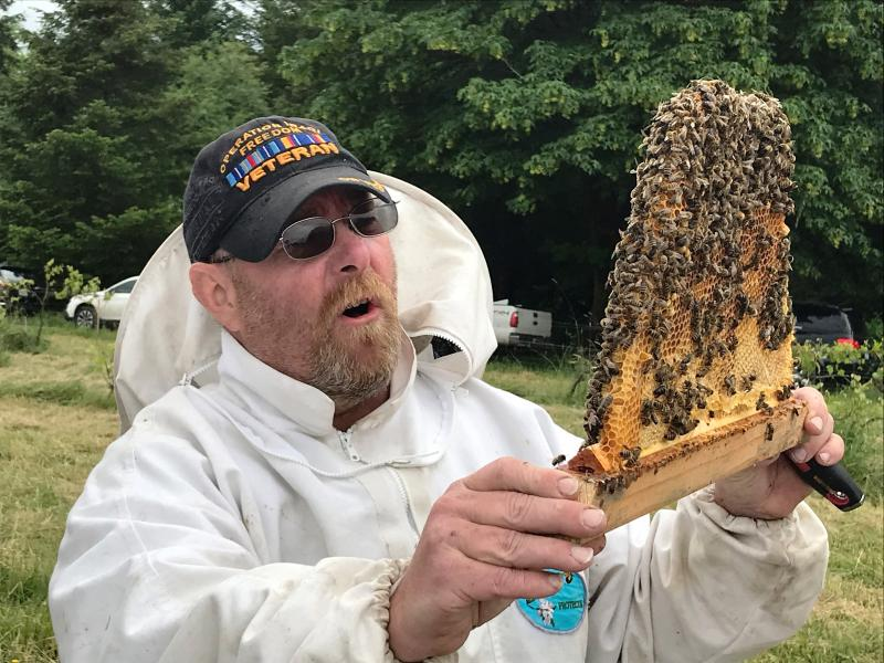 Cody Warren apiary manager