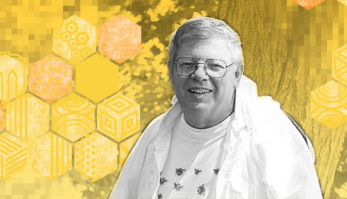 Dr. Dewey Caron image by New York Beekeepers Association